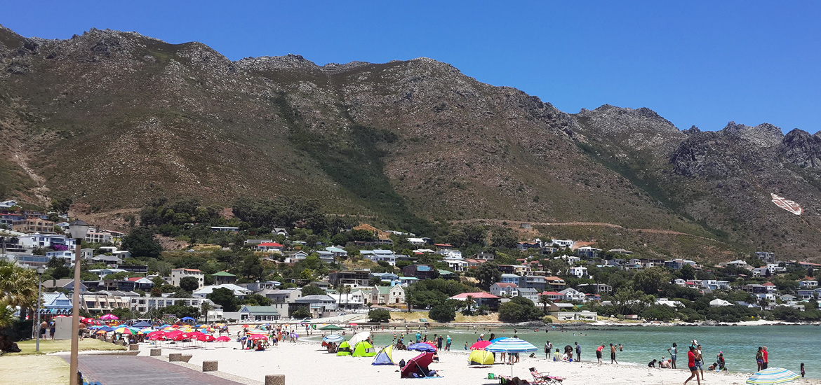 Gordons Bay Main Beach Promenade